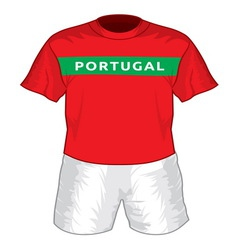Portugal dres resize vector image
