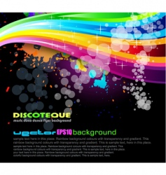 Rainbow spectrum background vector
