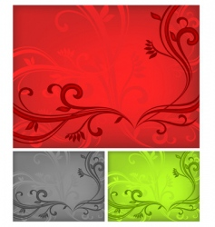 tricolored background vector image vector image