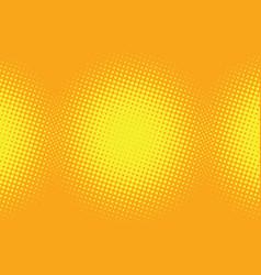 yellow pop art background vector image