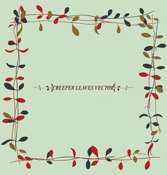 Vine leaves 2 vector
