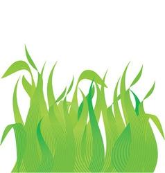 Meadow grass vector