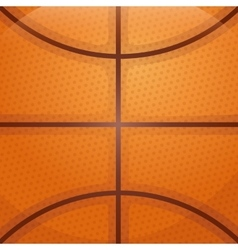 Ball background icon Basketball design vector image