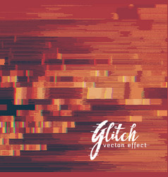 Currupted glitch image background vector