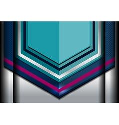 Dimension modern background vector