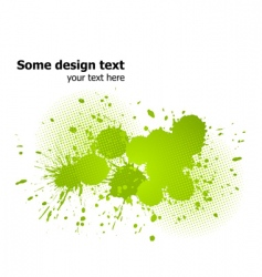 paint splash background vector image vector image