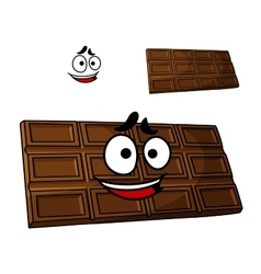 Cartoon chocolate dessert vector