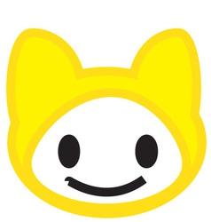 Kitty cute vector
