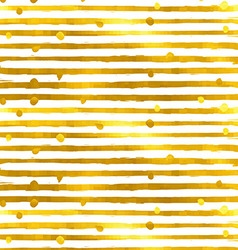Gold textured seamless pattern of golden stripes vector