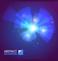 Blurry rays abstract background vector