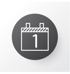 Calendar month icon symbol premium quality vector