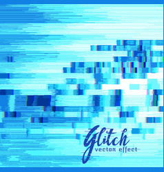 Glitch error wallpaper background vector