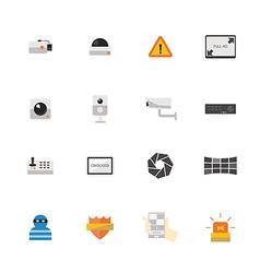 Icon CCTV vector image vector image