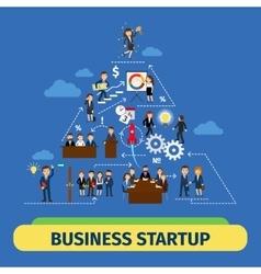 Success business teamwork concept vector