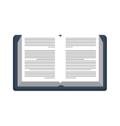 Books school isolated icon vector