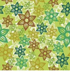 Floral texture vector