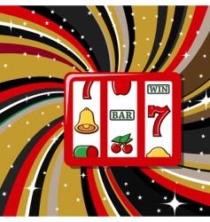 casino symbols vector image