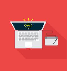 concept make creative ideas vector image