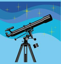 Observing telescope vector