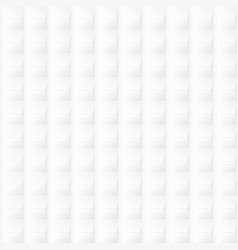 white geometric texture - seamless vector image vector image