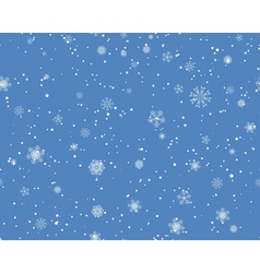 Seamless blizzard pattern vector