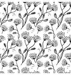 Abstract floral pattern vector