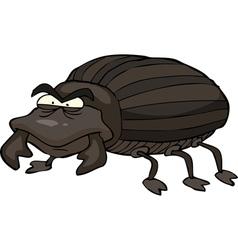 Black beetle vector