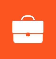 business briefcase icon vector image vector image