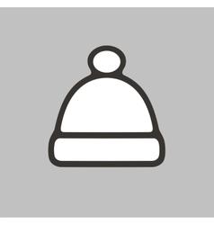 Cap icon vector
