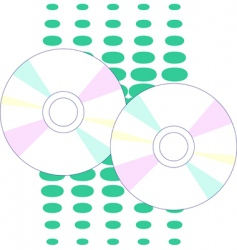 cd drive vector image
