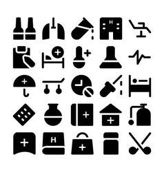 Health icons 7 vector