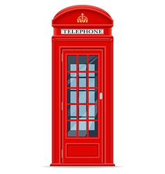 London phone booth vector