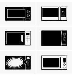 Microwave ovens vector