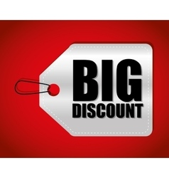 Big sales and special offers shopping vector