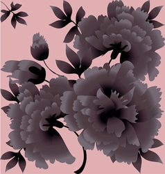 Tender flower vector
