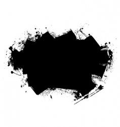 splat roller marks vector image