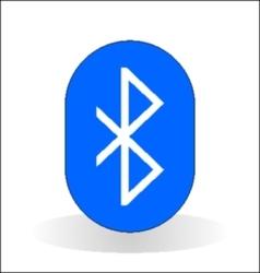 Bluetooth icon vector