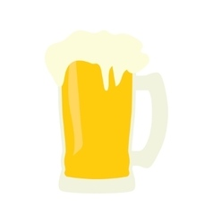 Mug of beer icon vector image vector image
