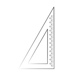 school set square vector image vector image