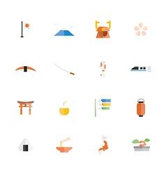 Icon Japan vector image
