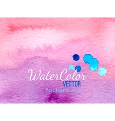 Watercolor banner background for textures vector