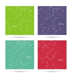 Abstract background with dna strand vector