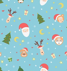 Christmas team vector image vector image
