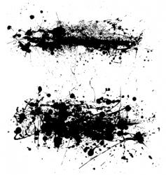 Grunge splatter vector