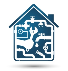 Plumbing home repair vector