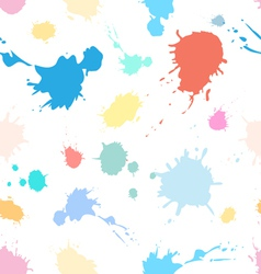 Pattern of spray paints vector