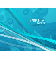 water background vector image