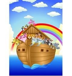 Noah ark vector image