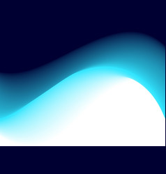 Abstract deep blue wave vector