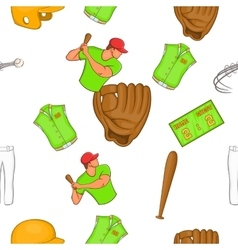 Game with bat pattern cartoon style vector